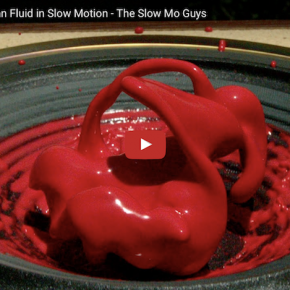 Nichtnewtonsches Fluid in Slow Motion: The Slow Mo Guys